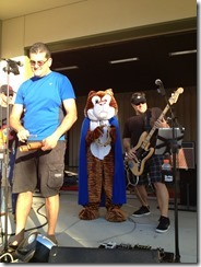 Ryan and TC Tiger rock out