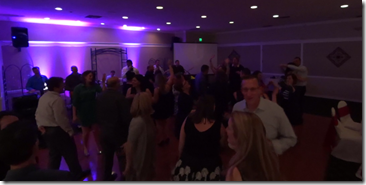 Packed Dance Floor at the TC Auction