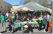 The crowd at Norms St Patrick's Day 2014