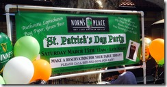 Norm's St Patricks Day 2014