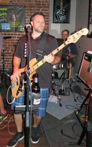 Ryan rocking the bass