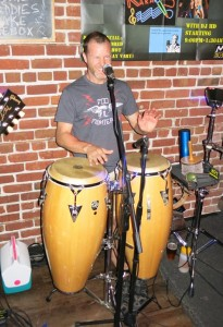 Dr Xeno on the congas