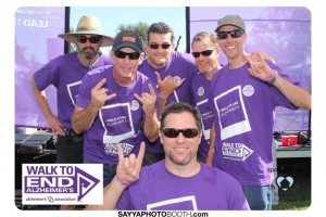 Drop Daddies Alzheimers Walk Photobooth 1