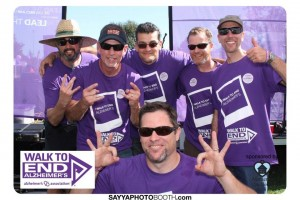 Drop Daddies Alzheimers Walk Photobooth 3