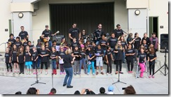 The Drop Daddies with the Twin Creeks Elementary Chorus