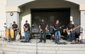 The Drop Daddies at the Twin Creeks Carnival