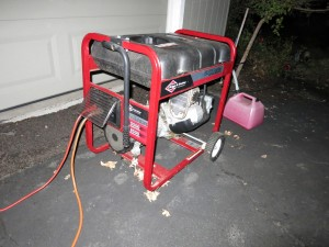 The generator that saved the gig