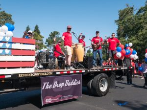 The Drop Daddies in the Danville 4th of July Parade