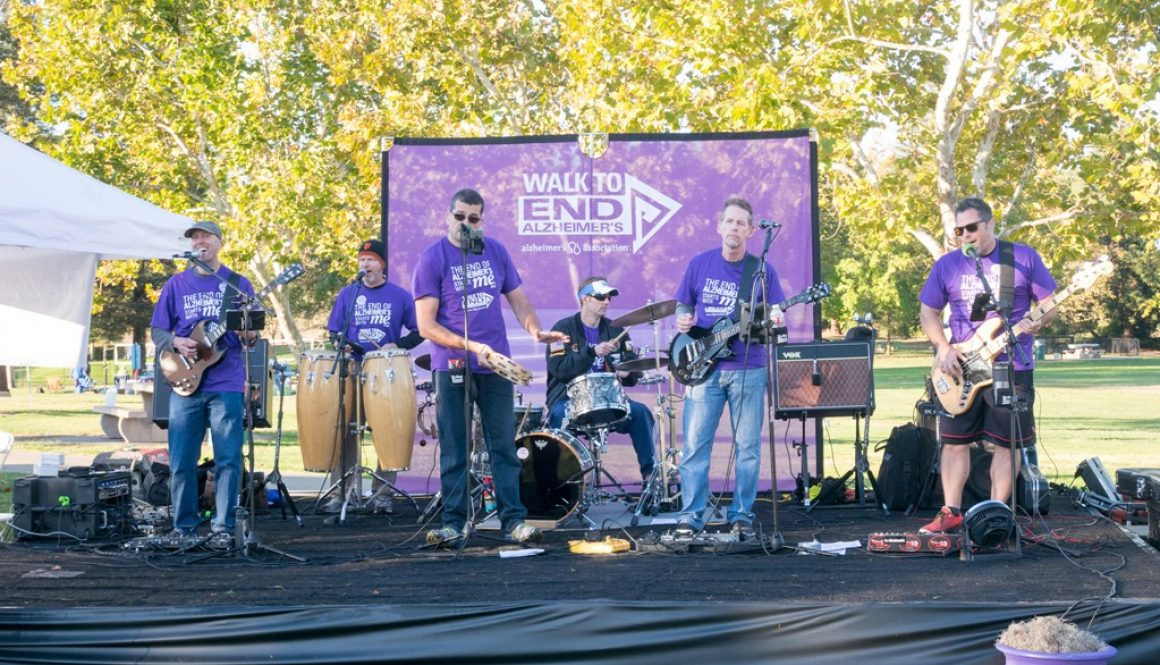 The Drop Daddies at the Walnut Creek Walk To End Alzheimer's 2016