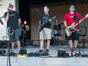 The Drop Daddies at the Twin Creeks Fall Carnival 2016