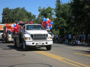 The Drop Daddies At The July 4th 2017 Parade 1