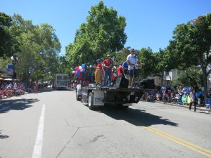 The Drop Daddies At The July 4th 2017 Parade 14