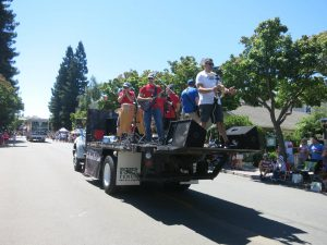 The Drop Daddies At The July 4th 2017 Parade 20