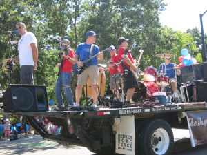 The Drop Daddies At The July 4th 2017 Parade