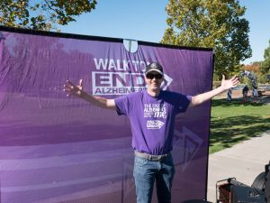 Ian At 2017 Walk To End Alzheimer's